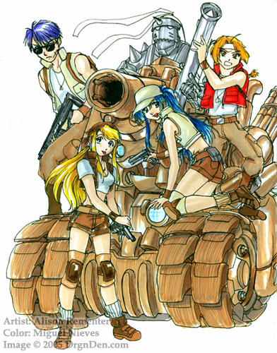 ... source on 2ch has leaked early promotional art for Full Metal Slug: